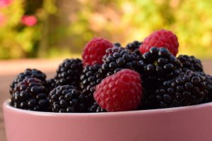Blackberries and Raspberries