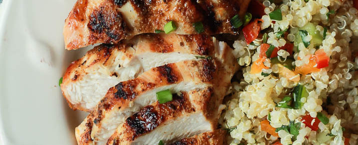 Grilled Chicken Recipe with Spice Rub