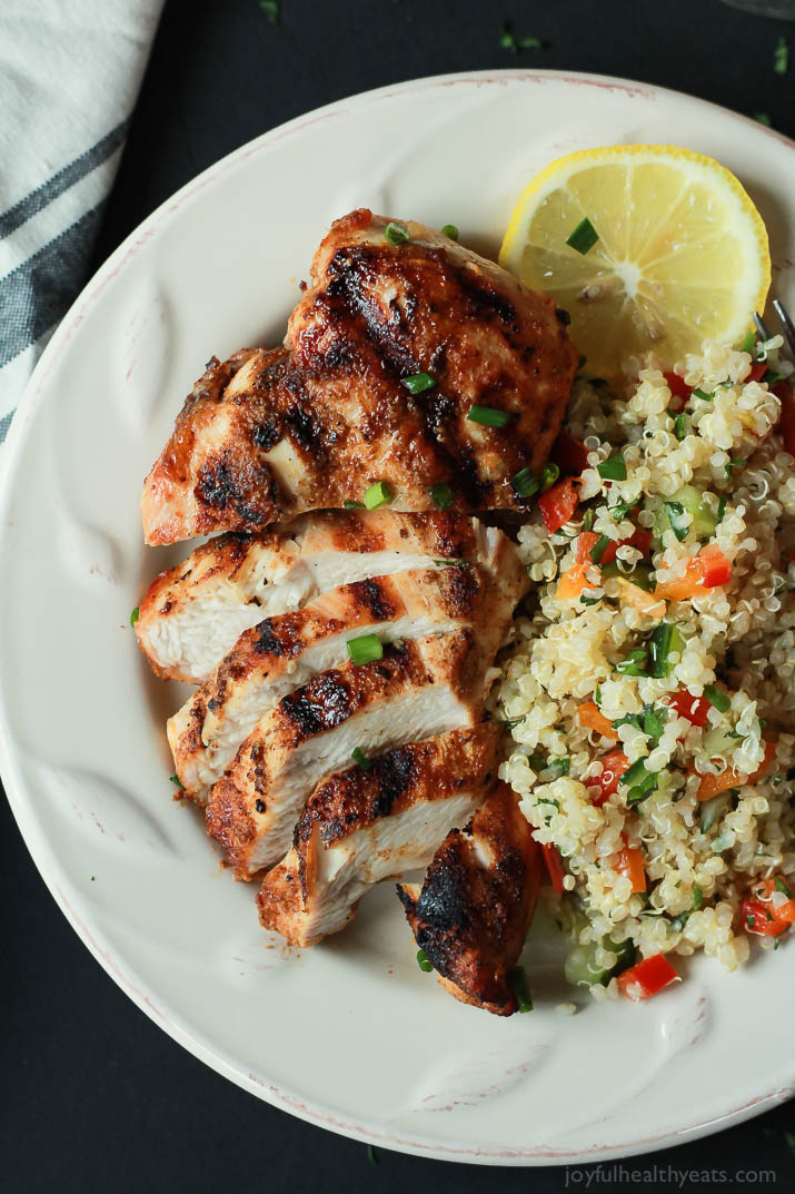 Sep 26, · In a medium baking dish, place chicken breast, drizzle with oil and sprinkle with smoked paprika, garlic powder, oregano, salt and pepper. Using tongs or hands, move chicken breast around to coat on all sides evenly.5/5(6).