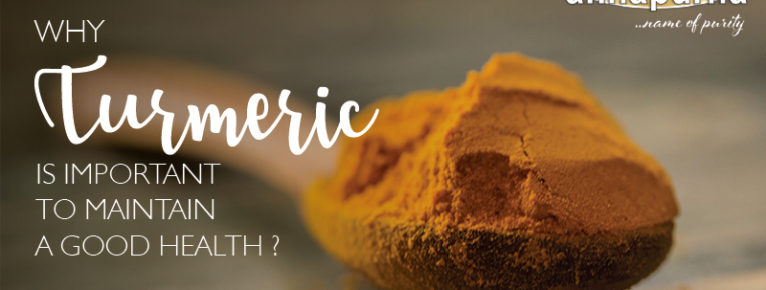 Why turmeric is important