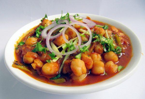 Chana Masala Dish