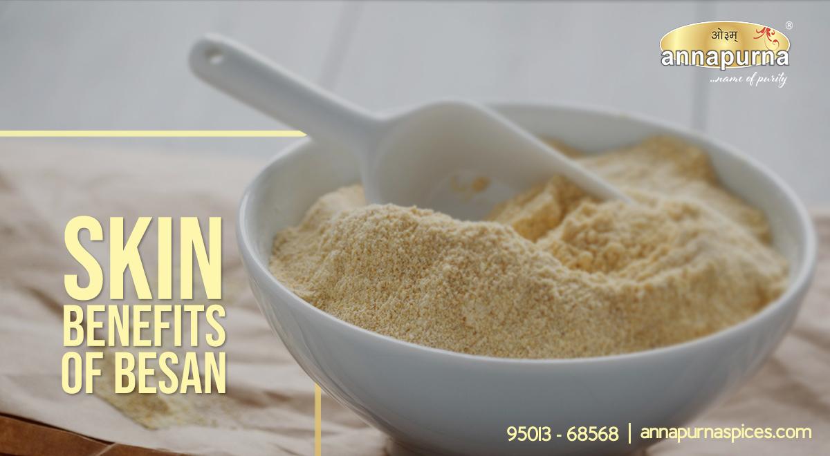 Skin benefits Of Besan